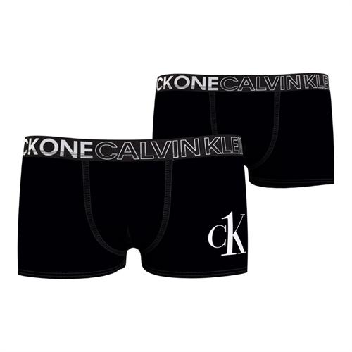Calvin Klein 2-pak Trunks - Sort 10-12 år